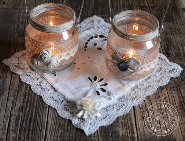 lanterne portacitronella handmade