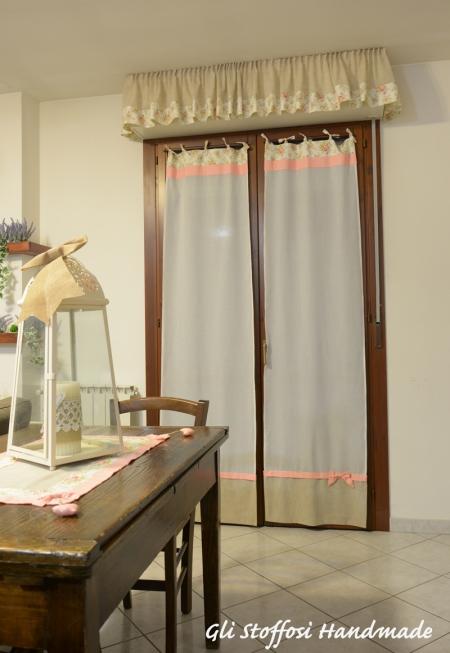 Nuove tende shabby per il soggiorno for Tappeti casa classica